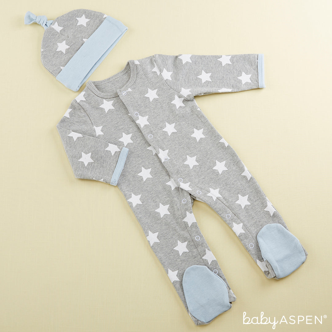 Lullaby Pajama Set for A Baby | Baby Aspen