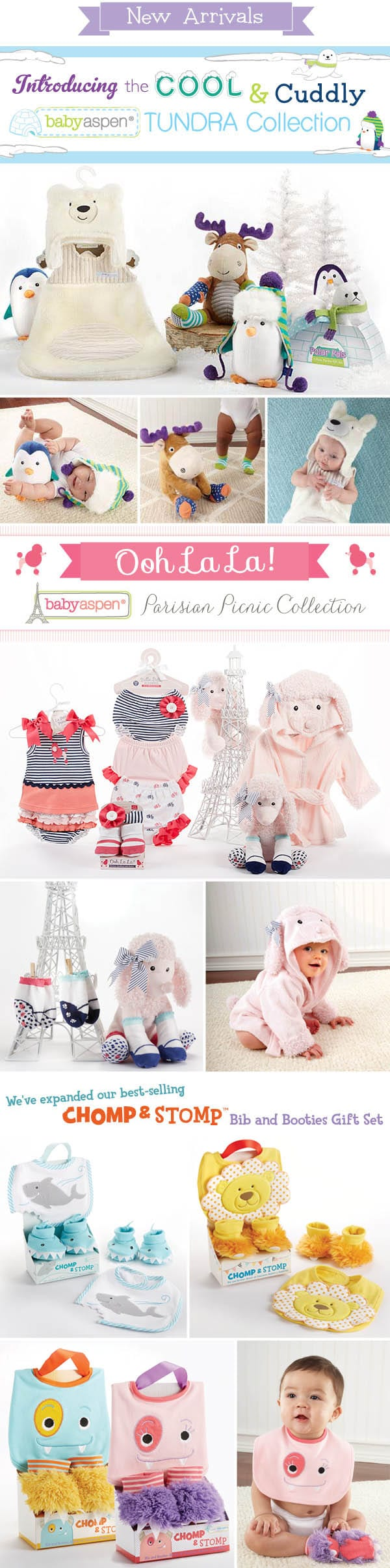 Introducing Two New Collections from Baby Aspen!
