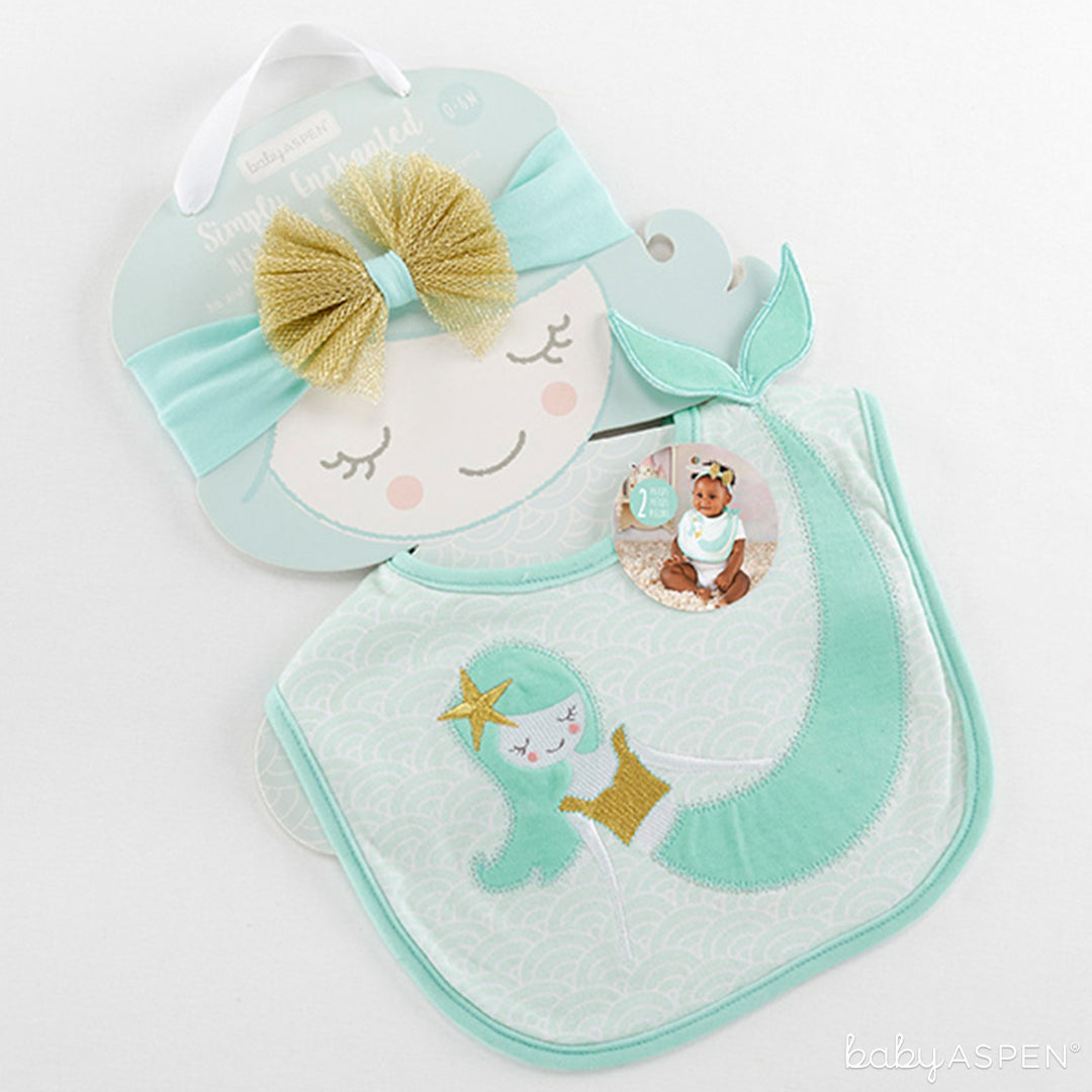 Mermaid Bib | Spring Gifts for Baby | Baby Aspen
