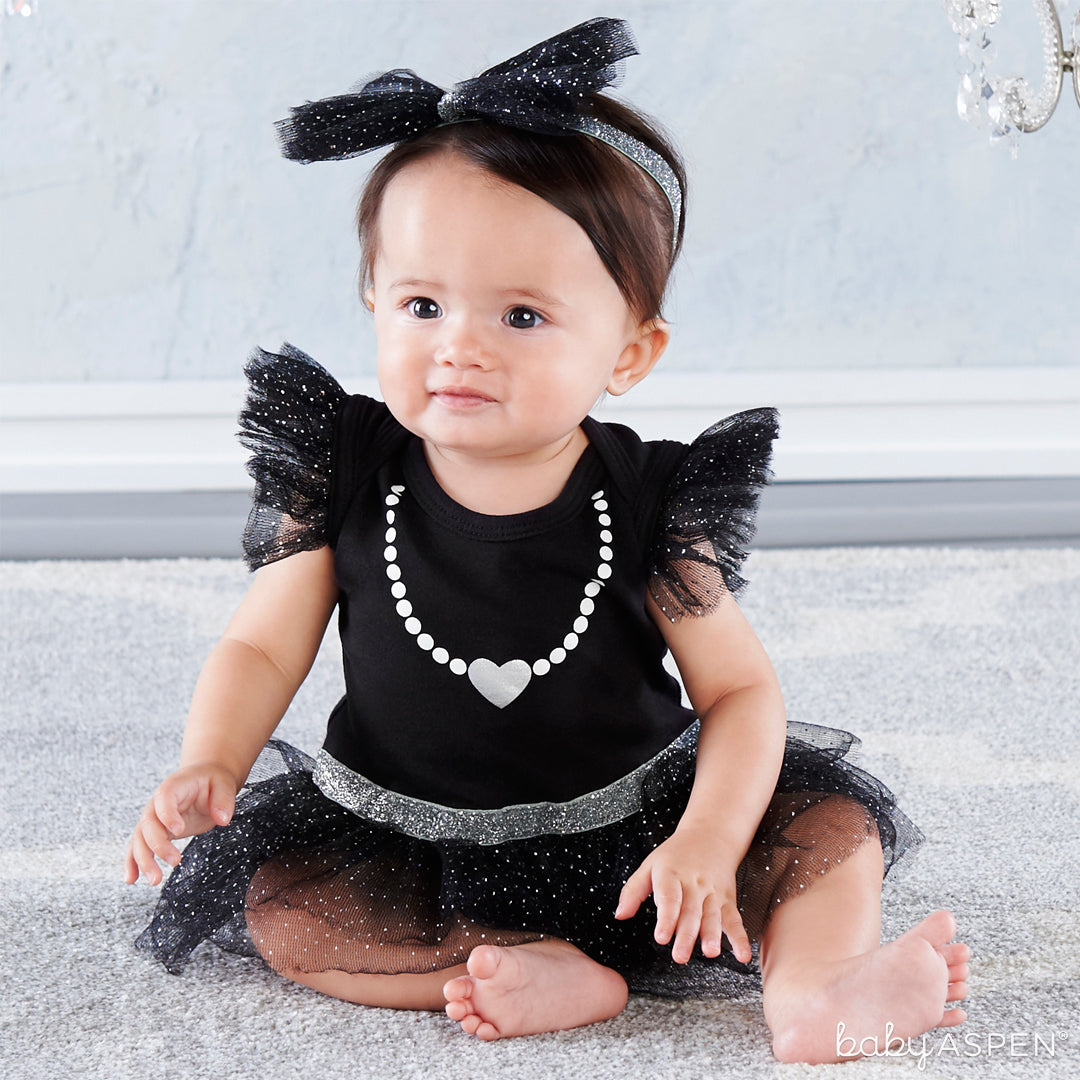 My First Party Dress with Headband | Baby Gifts for Each New Milestone | Baby Aspen