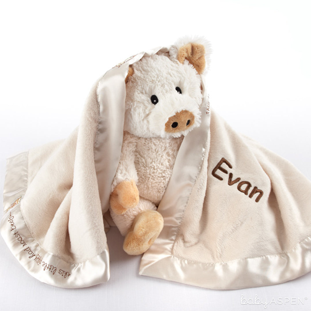 """""""Pig in a Blanket"""" Two-Piece Gift Set 