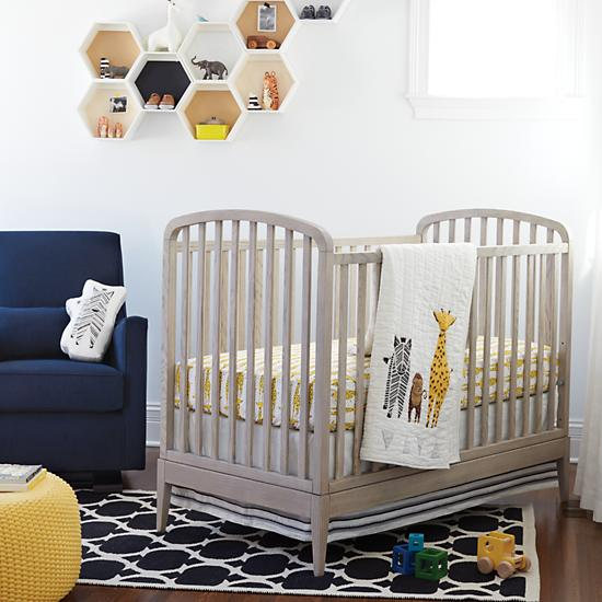 Savannah Crib Bedding from The Land of Nod