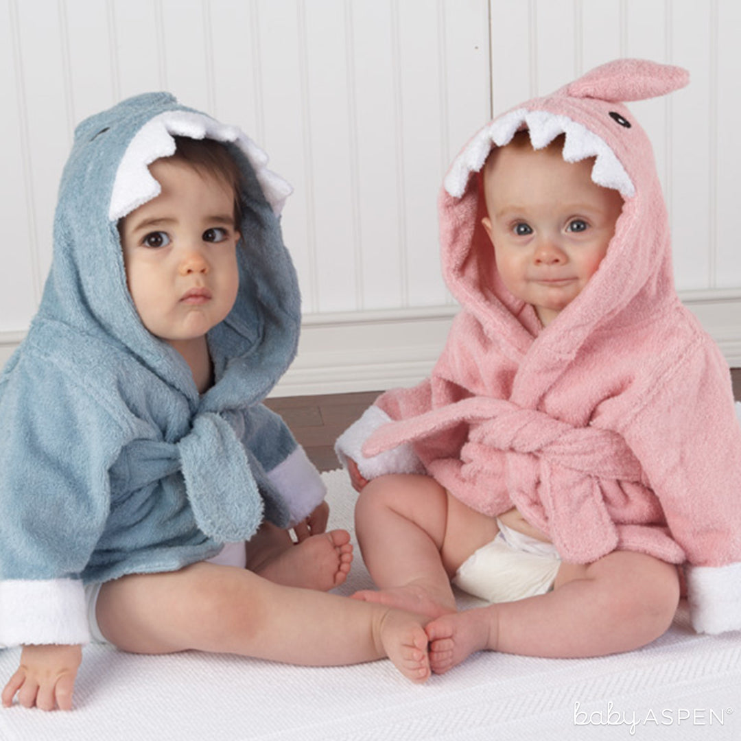 Shark Robes | Spring Gifts for Baby | Baby Aspen