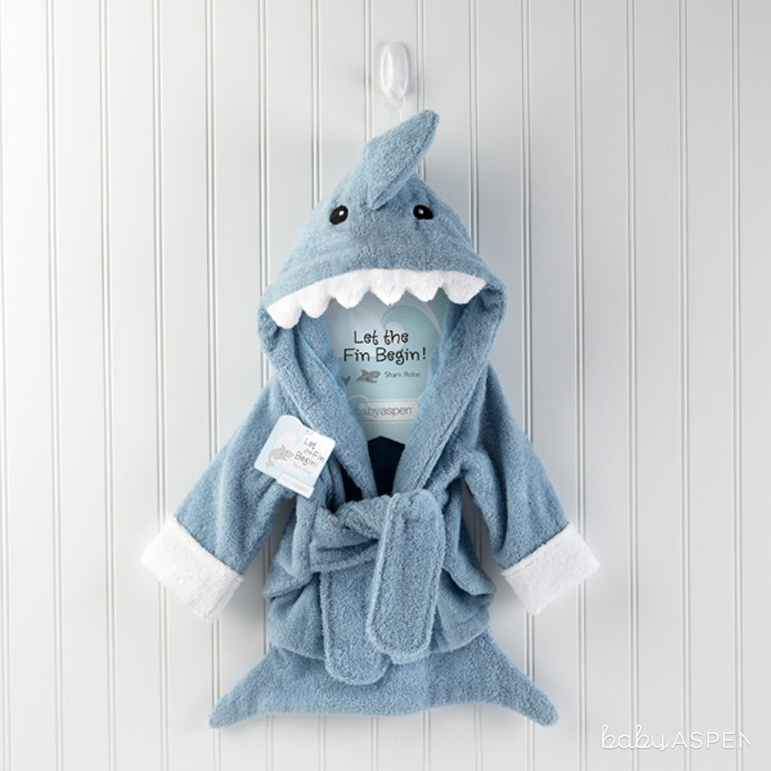 Let the Fin Begin Terry Shark Robe | Our Favorite Baby Gifts from 2016 | Baby Aspen