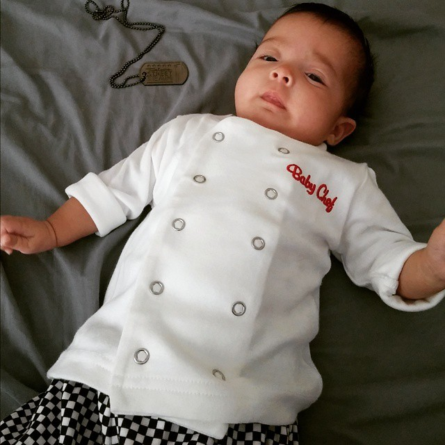 Baby Chef via theculinarygangster on Instagram | Baby Aspen