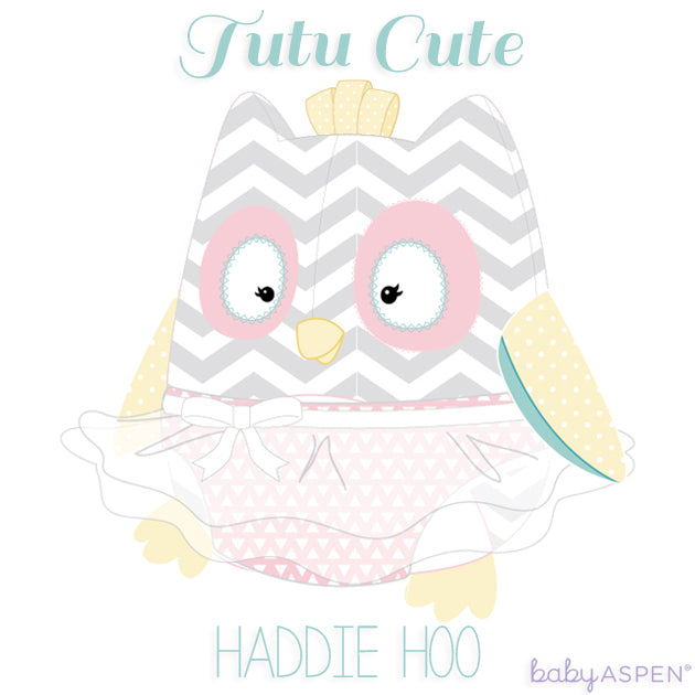 Haddie Hoo Plush Owl With Tutu for Baby by Baby Aspen | Tutu Tuesday | Tutu Cute