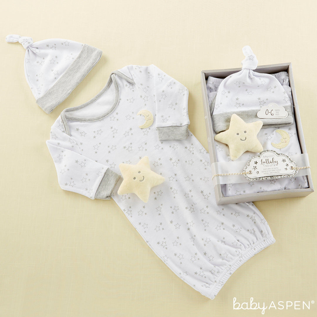 Lullaby Nightgown Gift Set | Baby Aspen