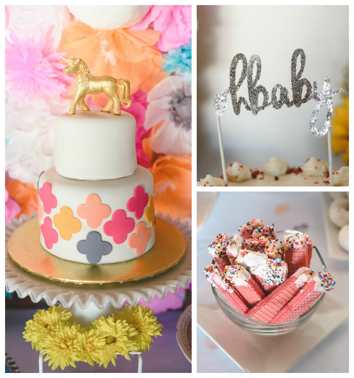 A Unicorn Themed Baby Shower | 8 Baby Shower Themes for Girls | Baby Aspen
