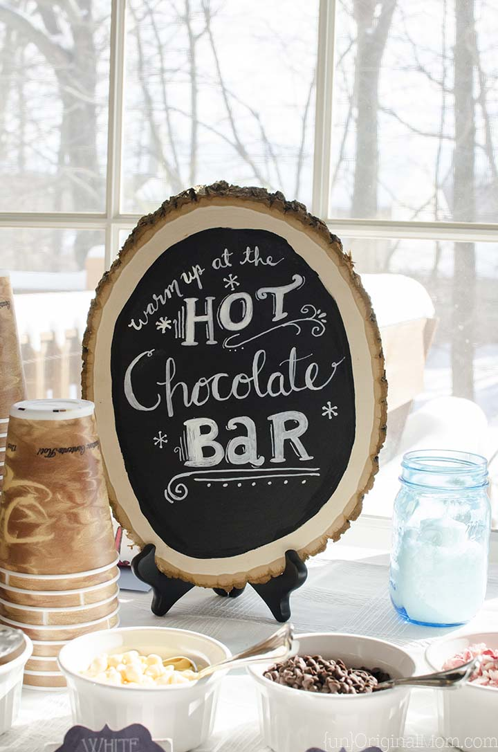 Winter Onederland Birthday Party | Hot Chocolate Bar | UnoriginalMom.com