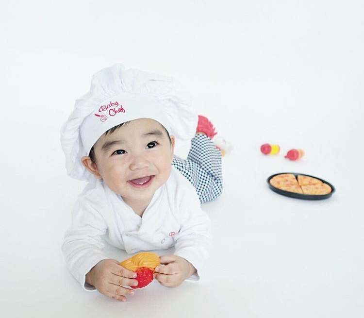 Baby Chef Outfit By @zee_league via Instagram | Baby Chefs Are The Best Chefs | Baby Aspen