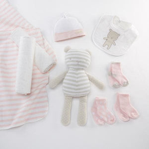 Beary Special 10-Piece Welcome Gift Set (Pink) - Baby Gift Sets
