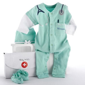 Big Dreamzzz Baby M.D. 3-Piece Layette Set (Personalization Available) - Layettes