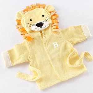 Big Top Bath Time Lion Hooded Spa Robe (Personalization Available) - Robes