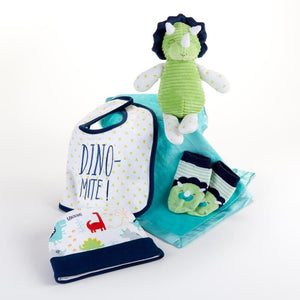 Dinosaur 5-Piece Welcome Home Gift Set - Baby Gift Sets