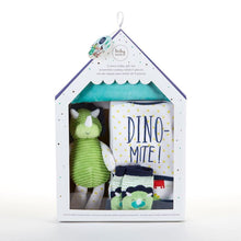Load image into Gallery viewer, Dinosaur 5-Piece Welcome Home Gift Set - Baby Gift Sets