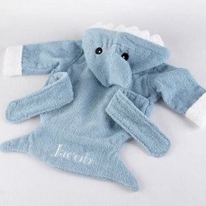 Let the Fin Begin Blue Shark Robe (0-9m) (Personalization Available) - Robes