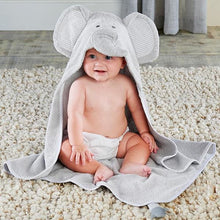 Load image into Gallery viewer, Little Peanut Elephant Hooded Spa Towel - Hooded Towels