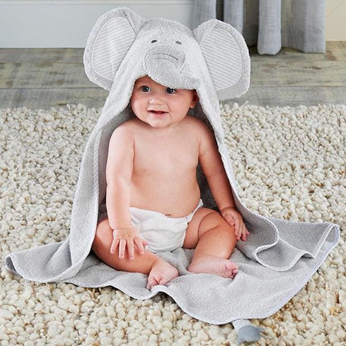 Little Peanut Elephant Hooded Spa Towel - Hooded Towels
