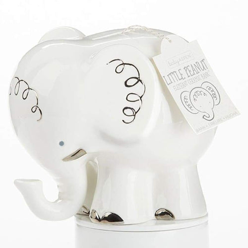 Little Peanut Elephant Porcelain Bank - Piggy Bank