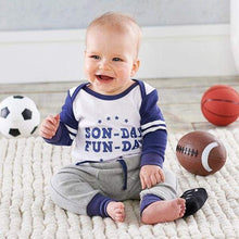 Load image into Gallery viewer, My First Gameday 2-Piece Outfit with Rattle (0-6 mos) - Baby Gift Sets