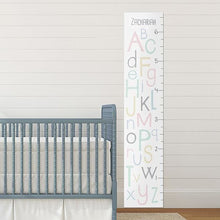 Load image into Gallery viewer, Personalized ABC Growth Chart - Growth Chart