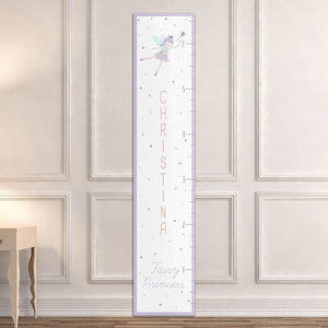Personalized Fairy Princess Growth Chart - Growth Chart