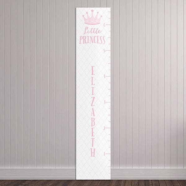 Personalized Little Princess Growth Chart - Growth Chart