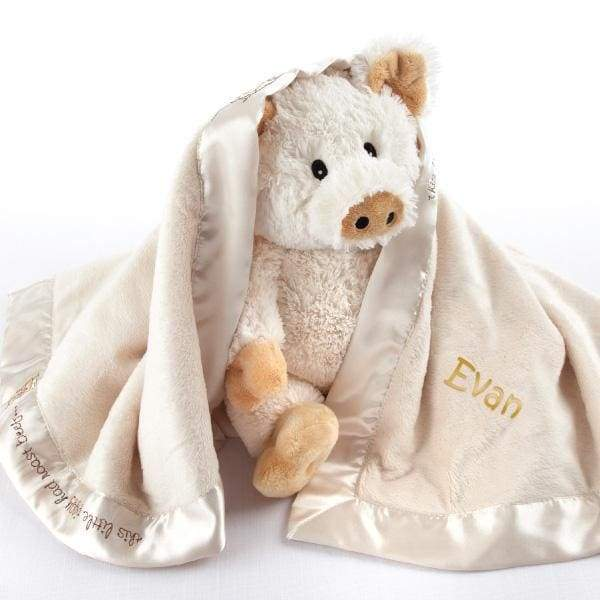 Pig in a Blanket 2-Piece Gift Set (Personalization Available) - Lovies