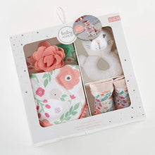Load image into Gallery viewer, Pretty Posies 4-Piece Gift Set - Baby Gift Sets