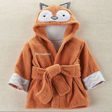 Load image into Gallery viewer, Rub-a-dub Fox in the Tub Hooded Spa Robe (Personalization Available) - Hooded Towels