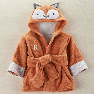 Rub-a-dub Fox in the Tub Hooded Spa Robe (Personalization Available) - Hooded Towels