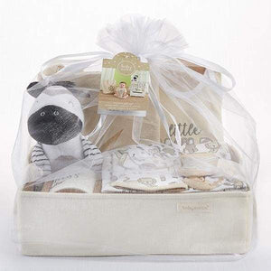 Safari 9-Piece Baby Gift Basket (Personalization Available) - Baby Gift Sets