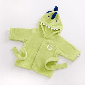 Splash-a-saurus Dinosaur Hooded Spa Robe (Personalization Available) - Robes