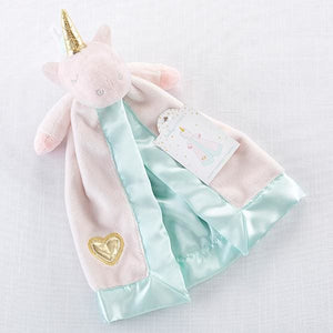 Unicorn Plush Rattle Lovie - Lovies