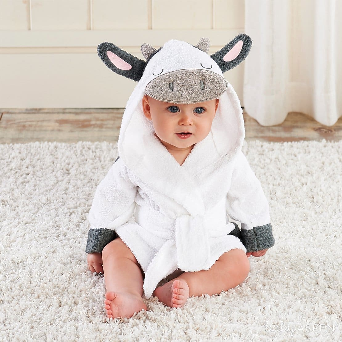 Cow Hooded Robe