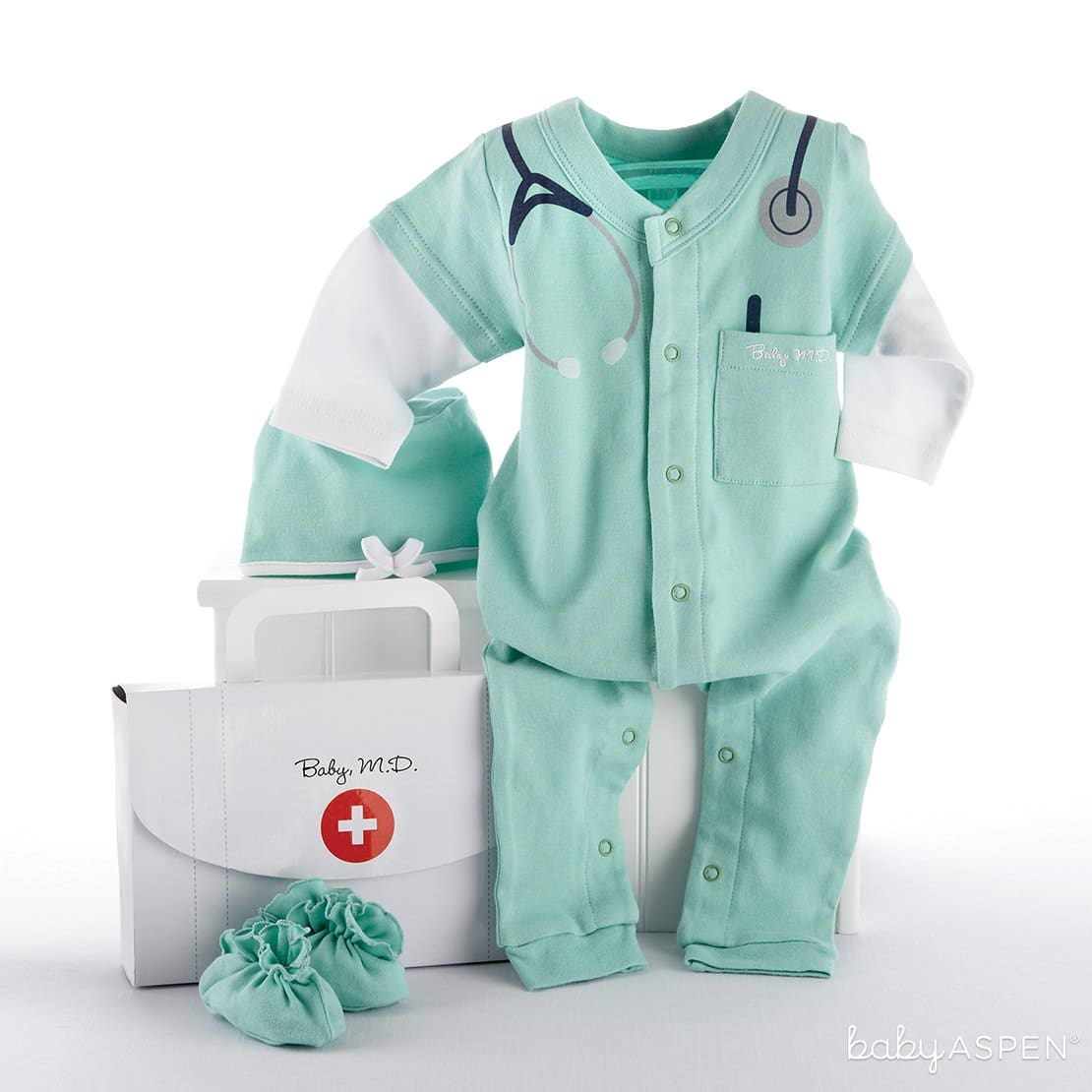 Baby M.D. 3 Piece Layette Set