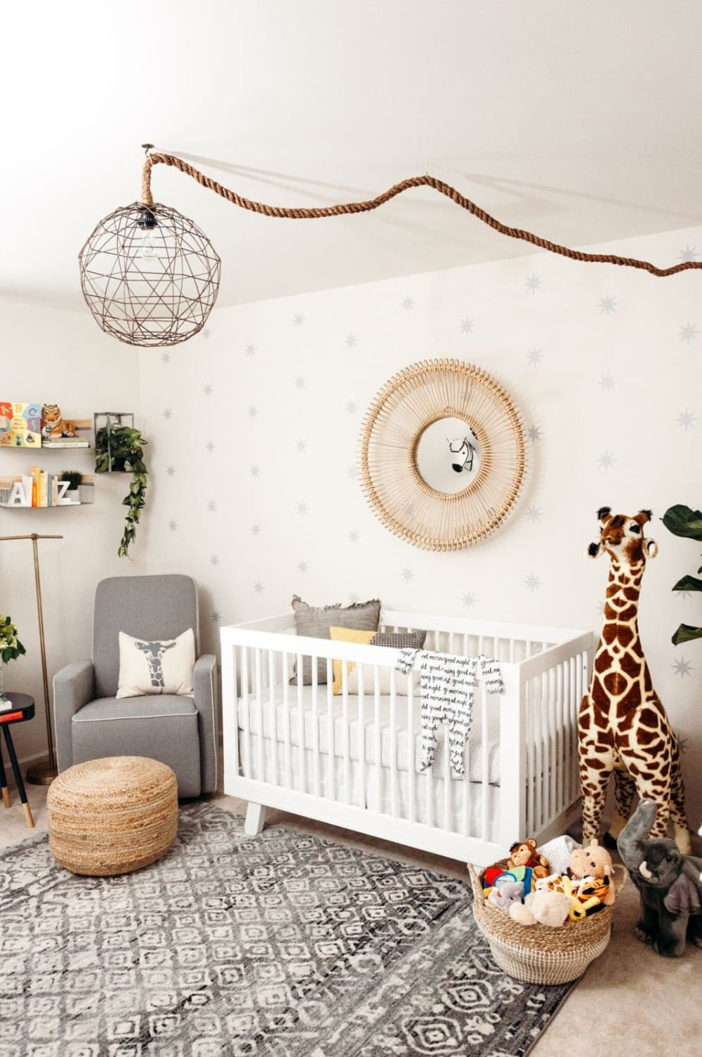A Little Bit etc | Cribspiration: A Boho Chic Safari Nursery | Baby Aspen