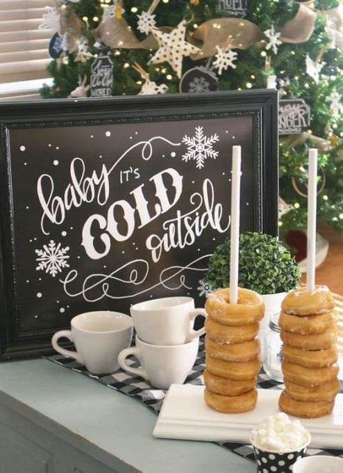 Winter Wonderland Baby Shower Inspiration