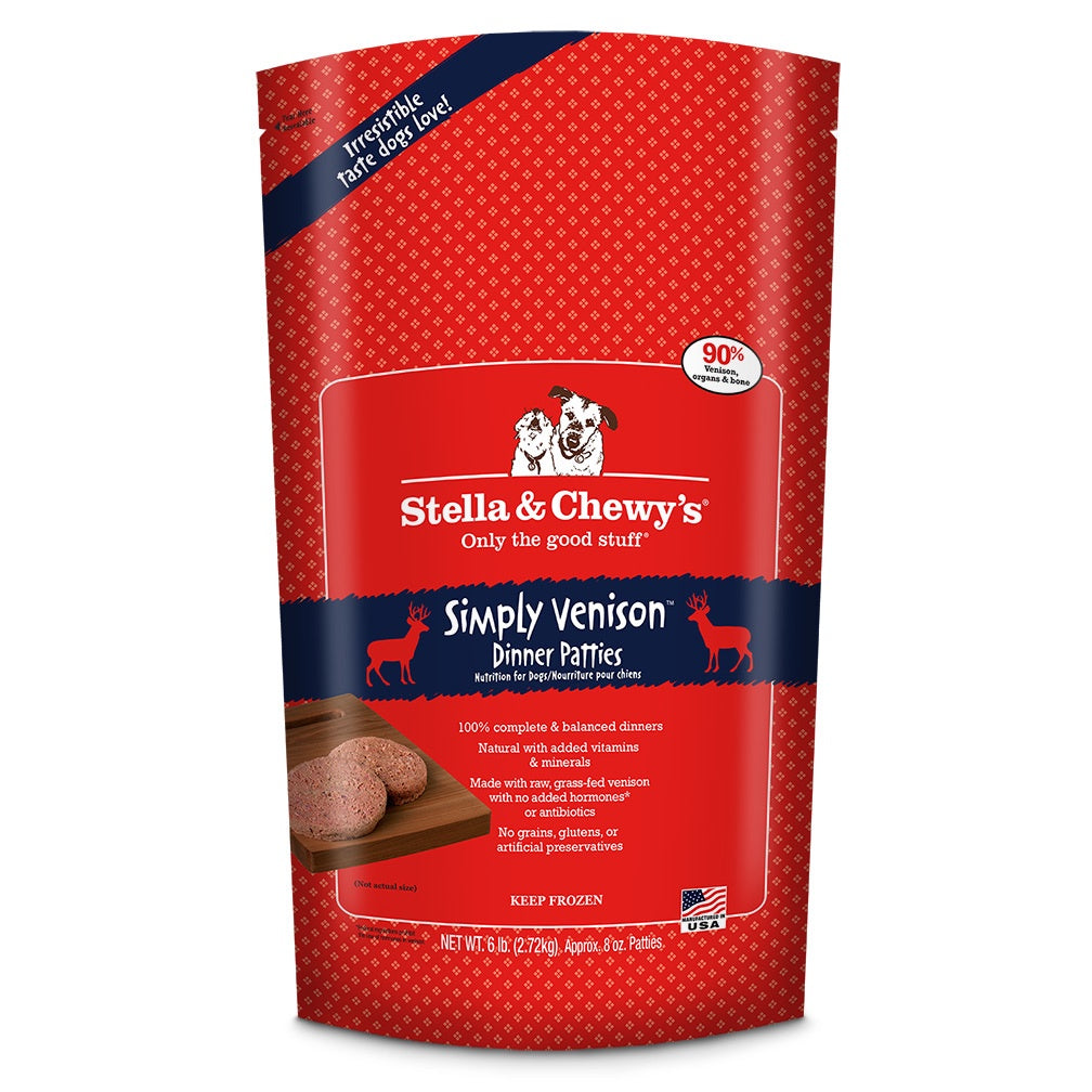 Stella & Chewy's Frozen RAW Venison for Dogs 6lb