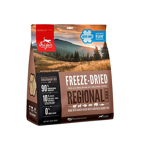 Orijen Dog Freeze-Dried Food Regional Red 16oz