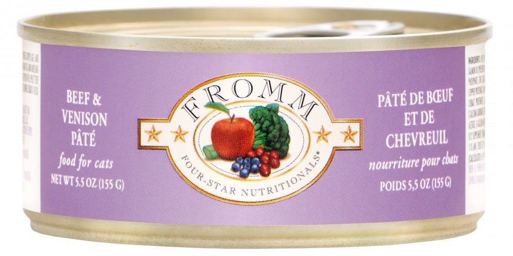 Fromm 4 Star Beef & Venison Pate 5.5oz 12/CS