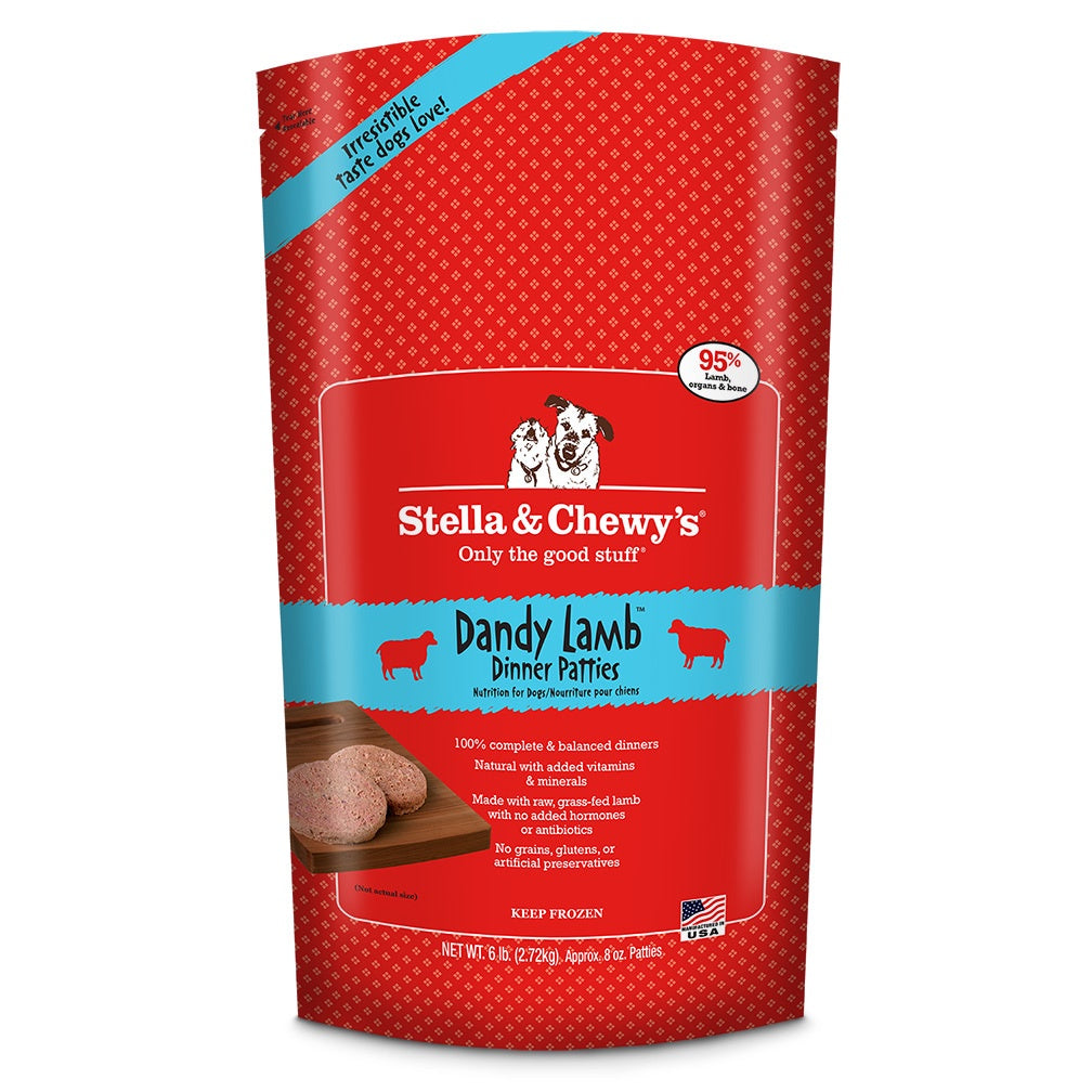 Stella & Chewy's Frozen RAW Dandy Lamb for Dogs 6lb