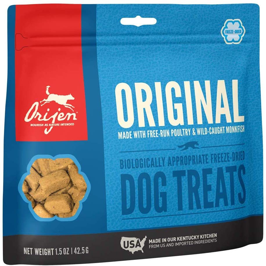 Orijen Freeze Dried Dog Treats Original 1.5oz