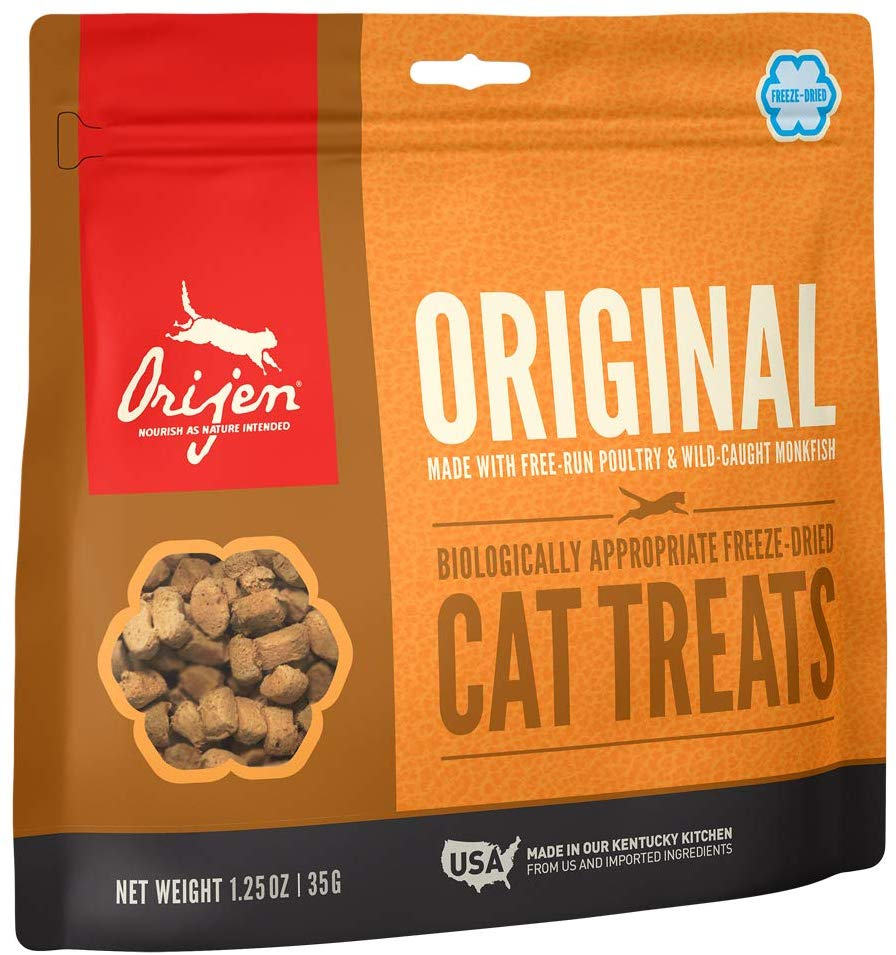 Orijen Freeze Dried Cat Treats Original 1.25oz