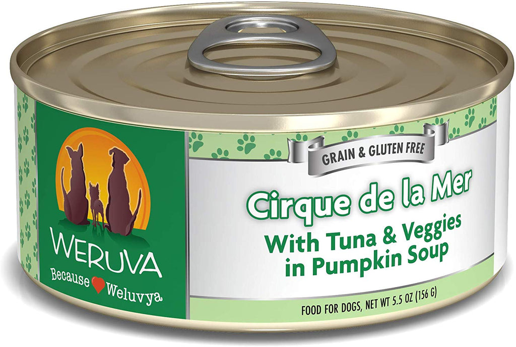 Weruva Cirque de la Mer for Dog 5.5oz