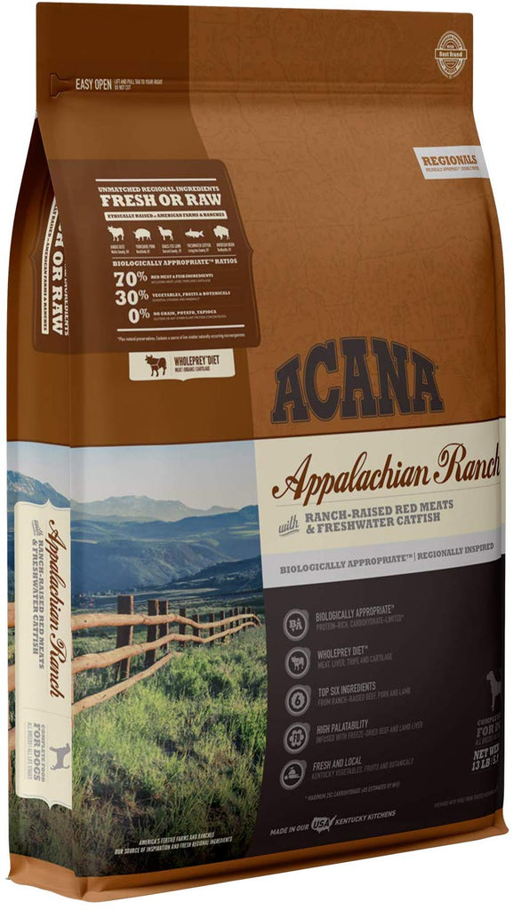 Acana Dry Dog Food Appalachian Ranch 13lb