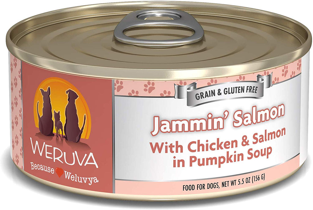 Weruva Jammin' Salmon for Dog 5.5oz