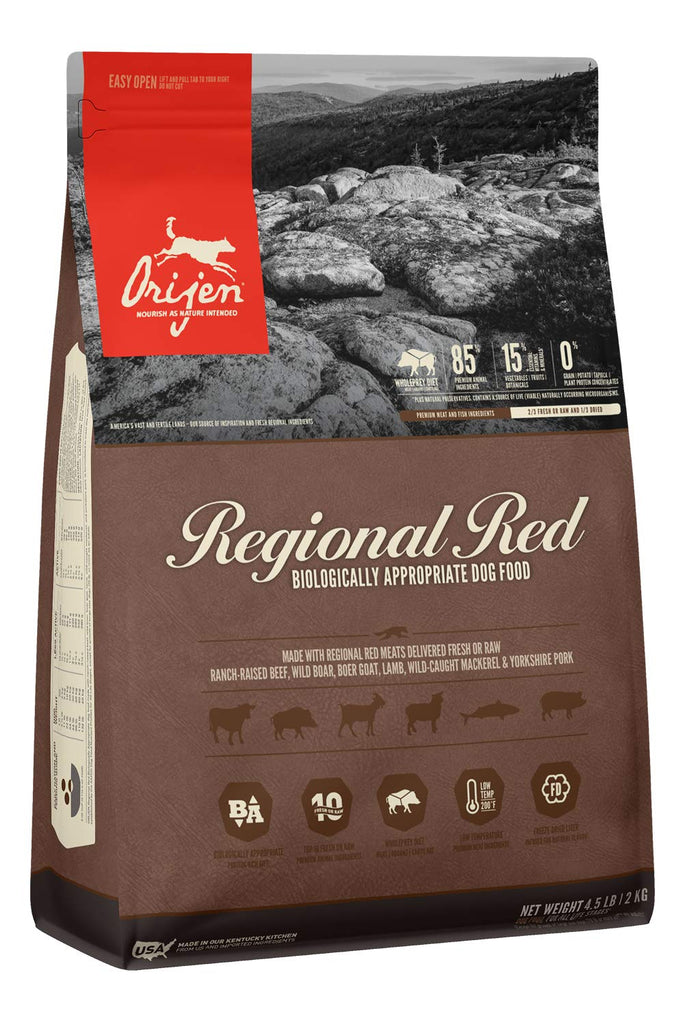 Orijen Dog Regional Red All Life Stages 4.5lb