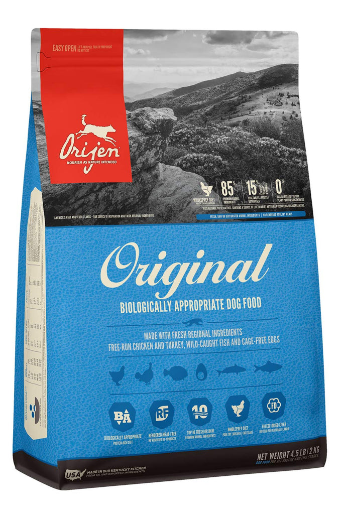 Orijen Dry Dog Food Adult Original 4.5lb