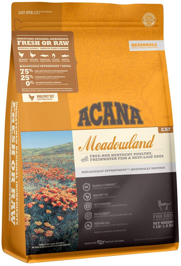Acana Dry Food Meadowland for Cat 4lb